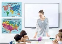 Best Map of the World for Kids - Kids World map