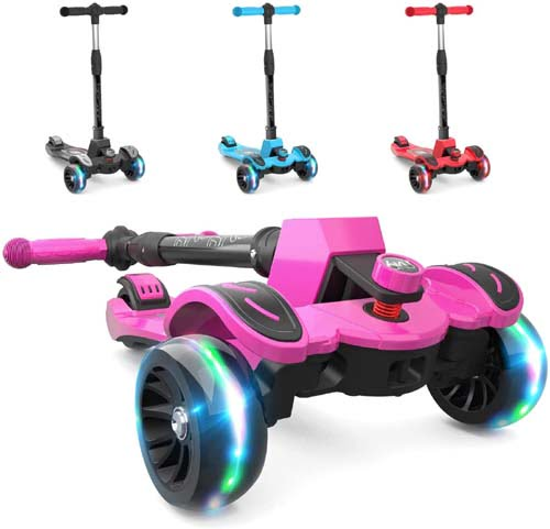 6KU Kids Scooter with Adjustable Height