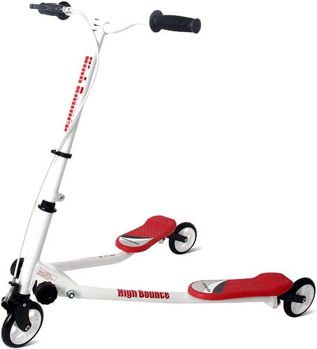 High Bounce Y Slicker 3 Wheel Wiggle Drift Scooter - Great Outdoor Scooters for Kids